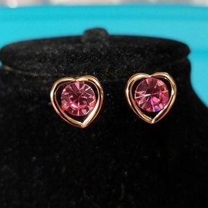Austrian heart earring